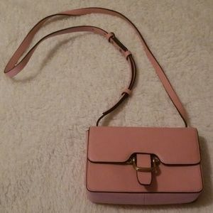 J.Crew - soft pink small crossbody purse